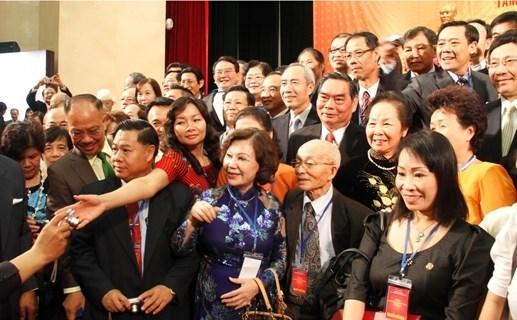 Ho Chi Minh-Ville : 500 Viet kieu reunis pour la 3e Conference des Vietnamiens de l'etranger hinh anh 1