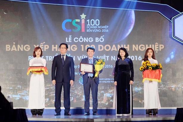 Publication de la liste des 100 entreprises de developpement durable du Vietnam en 2016 hinh anh 1