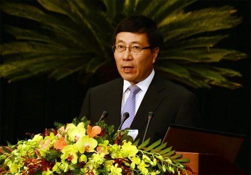 Ouverture de la 3e Conference des Vietnamiens de l'etranger hinh anh 1