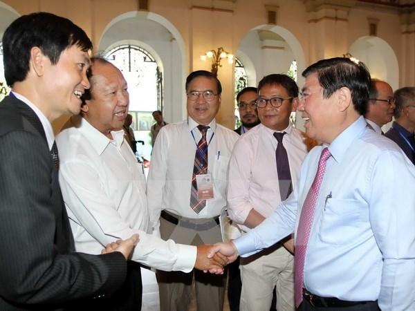 Ouverture de la 3e Conference des Vietnamiens de l'etranger hinh anh 2
