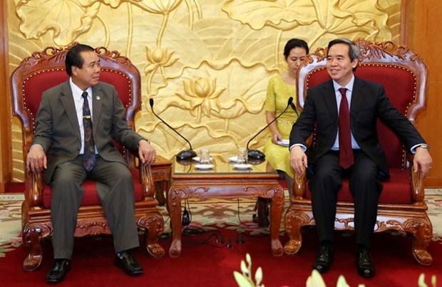 Le Laos renforce sa cooperation avec le Vietnam dans le developpement des zones frontalieres hinh anh 1