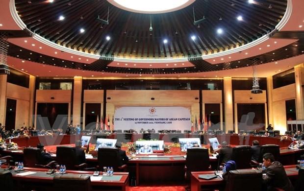 Laos: ouverture de la reunion des gouverneurs et maires des capitales de l'ASEAN hinh anh 1