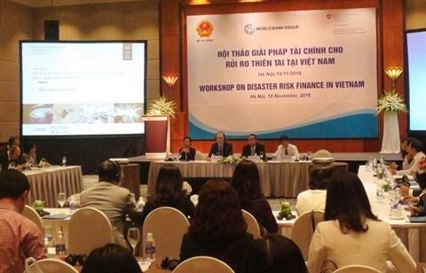 Colloque sur les mesures financieres contre les risques de catastrophes hinh anh 1