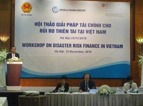 Colloque sur les mesures financieres contre les risques de catastrophes hinh anh 2