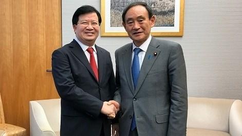 Le Vietnam et le Japon conviennent d'intensifier la confiance politique hinh anh 1
