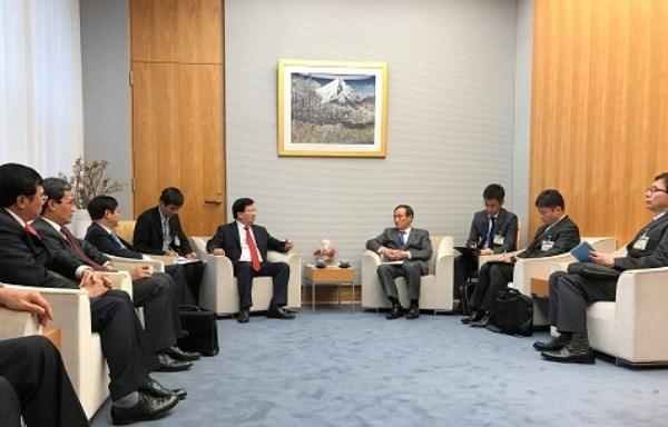 Le Vietnam et le Japon conviennent d'intensifier la confiance politique hinh anh 2