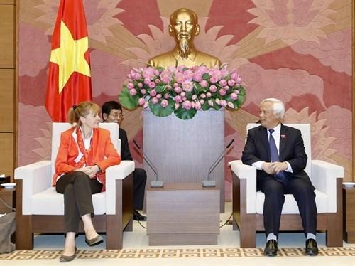 Vietnam-Allemagne : Renforcement de la cooperation entre les deux organes legislatifs hinh anh 1