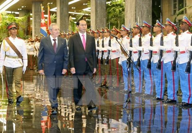 Renforcement de la solidarite et de la cooperation integrale Vietnam - Cuba hinh anh 1