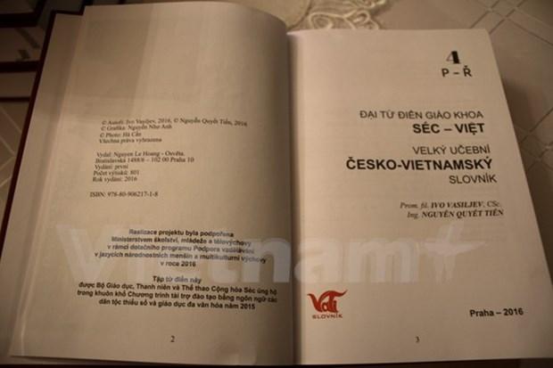 Publication du 4e volume du Grand Dictionnaire tcheque-vietnamien hinh anh 1