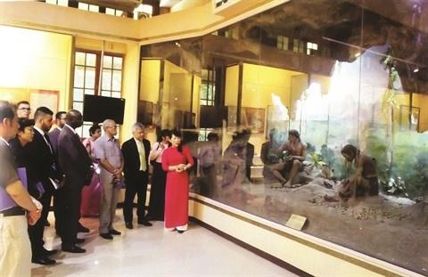 Le Musee national de l'histoire du Vietnam bien ancre dans son temps hinh anh 1