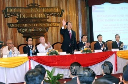 Forum d'affaires Vietnam-Cuba a La Havane hinh anh 1