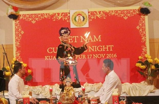 Presentation du culte de la Deesse-Mere du Vietnam en Malaisie hinh anh 1