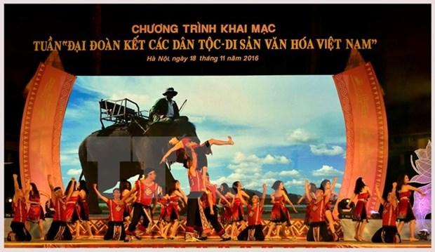 Semaine de la solidarite des ethnies et des patrimoines culturels du Vietnam hinh anh 1