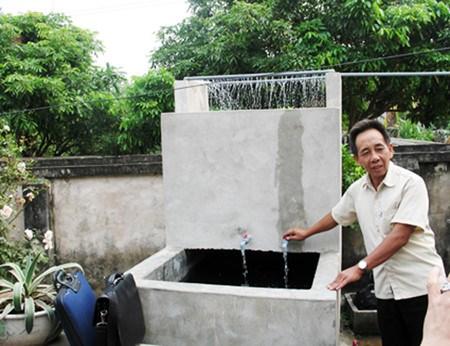La province de Bac Ninh se met a l'eau propre hinh anh 2