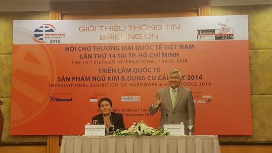 520 entreprises a la 14e foire Vietnam Expo 2016 a Ho Chi Minh-Ville hinh anh 1