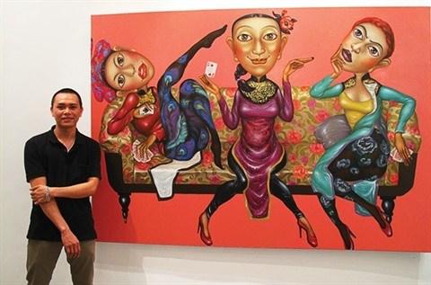 Le salut des peintres vietnamiens passe par l'etranger hinh anh 1