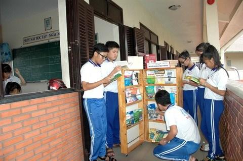Can Tho: bibliotheques mobiles, la lecture a la portee de tous hinh anh 1