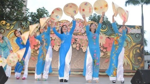 L'identite culturelle vietnamienne presentee a «Couleurs d'Asie 2016» hinh anh 1