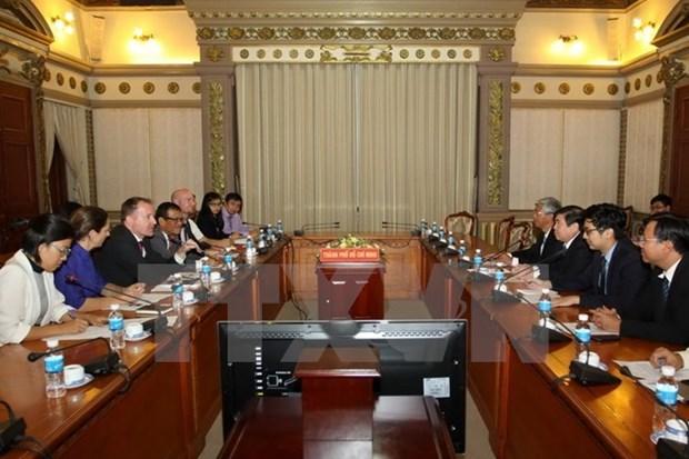 HCM-Ville et les entreprises europeennes renforcent leur cooperation hinh anh 1