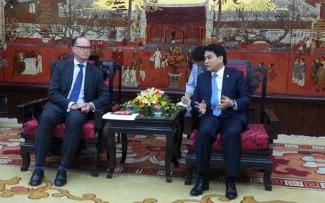Hanoi invite les entreprises autrichiennes a investir dans le traitement des eaux usees hinh anh 1