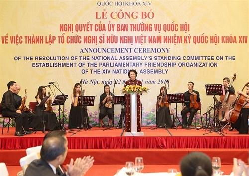 L'Organisation des deputes d'amitie du Vietnam voit le jour hinh anh 1