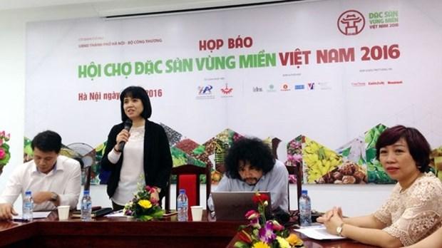 Bientot la foire des specialites agroalimentaires locales du Vietnam de 2016 hinh anh 1
