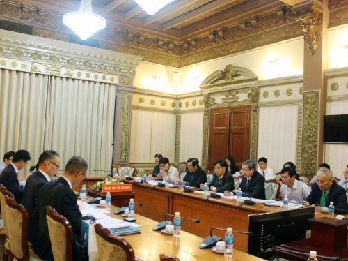 Les banques etrangeres s'interessent aux projets d'infrastructures de HCM-Ville hinh anh 1