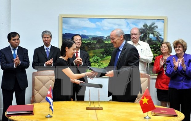 Cloture de la 34e session du Comite intergouvernemental Vietnam-Cuba hinh anh 1