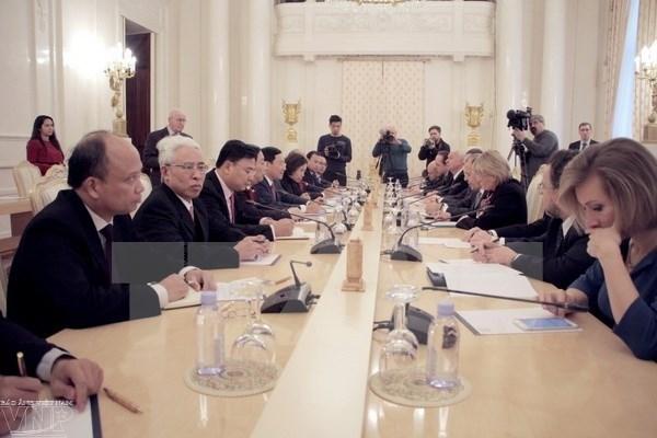 Le Vietnam et la Russie cherchent a dynamiser leurs relations hinh anh 1