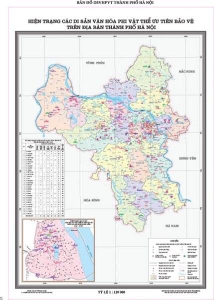Hanoi : publication du premier atlas sur les patrimoines culturels immateriels hinh anh 1
