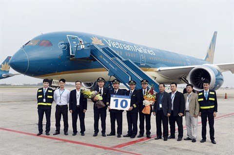 Vietnam Airlines recoit son dixieme Boeing 787-9 Dreamliner hinh anh 1