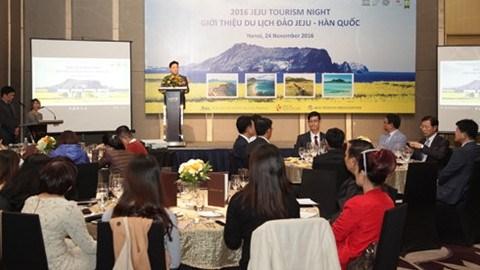 Le bureau de representation du Service du tourisme de Jeju inaugure a Hanoi hinh anh 1