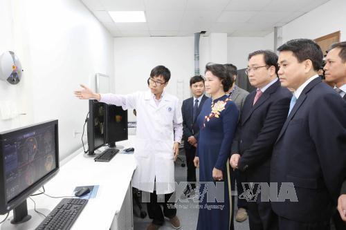 Le Centre des hautes techniques digestives de Hanoi inaugure hinh anh 1