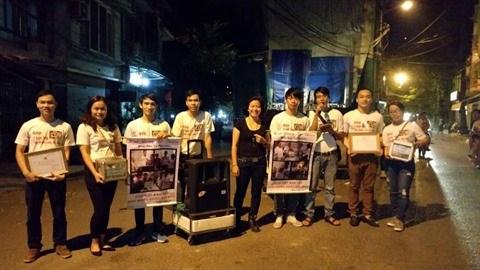 Des jeunes Hanoiens au cœur et a la voix d'or hinh anh 1
