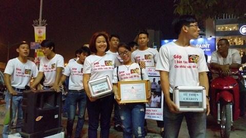 Des jeunes Hanoiens au cœur et a la voix d'or hinh anh 2