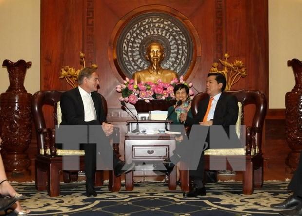 Renforcement de la cooperation entre Ho Chi Minh-Ville et Leipzig hinh anh 1