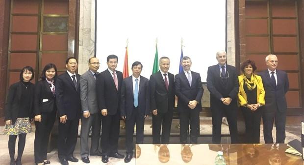 Vietnam-Italie : la cooperation economique se renforce hinh anh 1