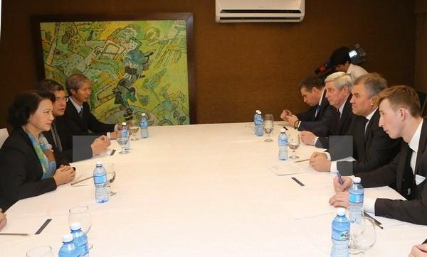 Vietnam-Russie : la cooperation legislative renforcee hinh anh 1