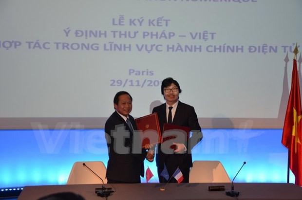 Vietnam et France renforcent leur cooperation dans l'information et la communication hinh anh 2