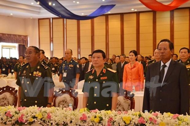 Rencontre d'anciens etudiants militaires cambodgiens ayant etudie au Vietnam a Phnom Penh hinh anh 1