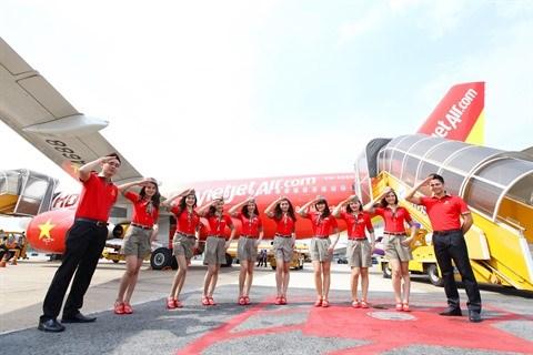 Vietjet lance 500.000 billets d'avion a partir de 0 dongs hinh anh 1
