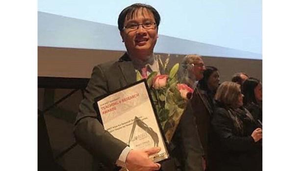 Un jeune docteur vietnamien honore en Australie hinh anh 1