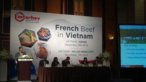 Le bœuf francais a la conquete du marche vietnamien hinh anh 1