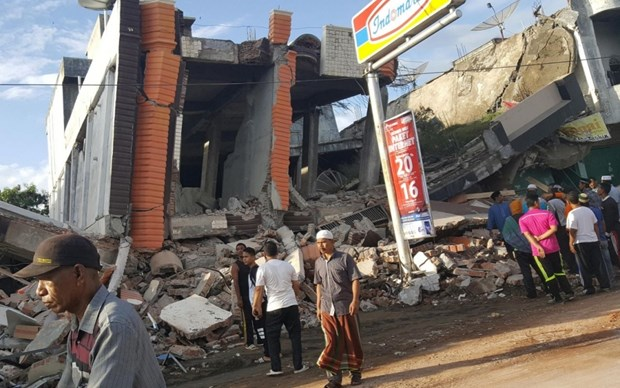 Aucun Vietnamien mort dans le seisme de magnitude 6,5 en Indonesie hinh anh 1