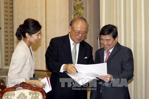 Le conseiller special de l'Alliance parlementaire d'amitie Japon - Vietnam a Ho Chi Minh-Ville hinh anh 1