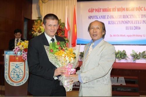 La Journee de l'independance de la Pologne celebree a Ho Chi Minh-Ville hinh anh 1