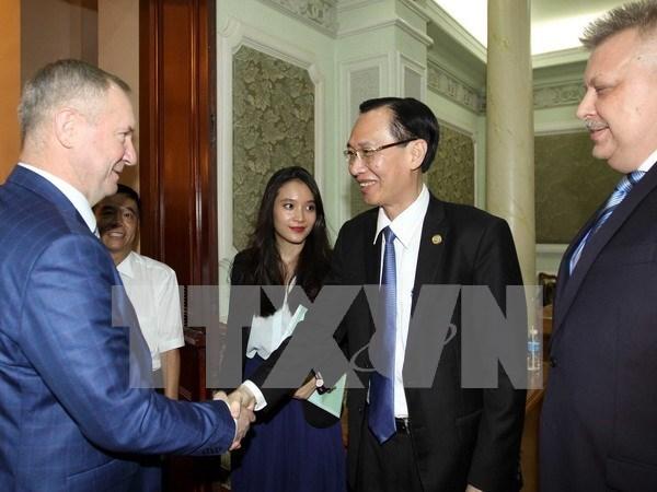 Ho Chi Minh-Ville et Koursk (Russie) renforcent leur cooperation hinh anh 1