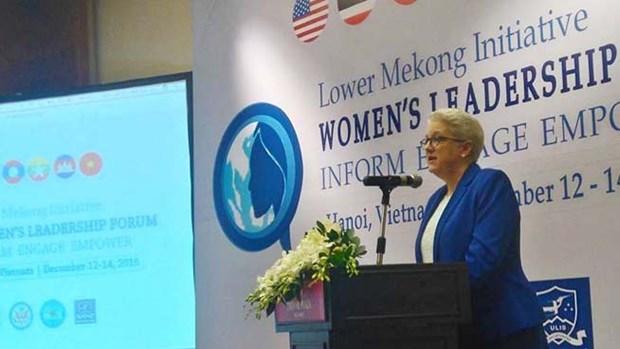 Promouvoir la position des femmes du Bas-Mekong hinh anh 1