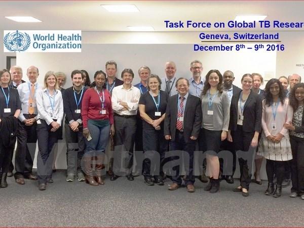 Le Vietnam participe au groupe mondial de recherche sur la tuberculose hinh anh 1