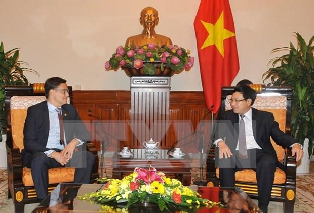 Le Vietnam attache de l'importance a sa cooperation economique et commercial avec le Venezuela hinh anh 1